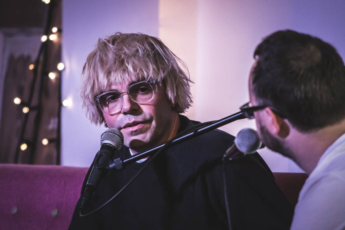 Tim Burgess in conversation with Peter Guy