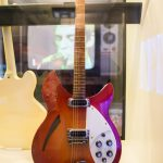 Weller's guitar