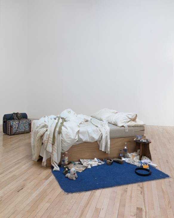 Tracey Emin's My Bed 1998 (Photo Credit: Tracey Emin, taken from the Tate's website)