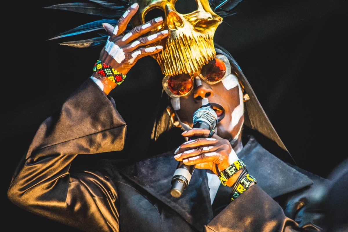 Grace Jones at Way Out West, Gothenburg
