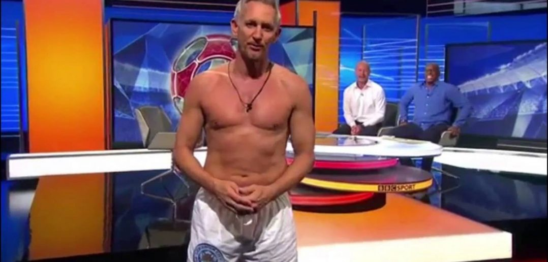 Gary Lineker is watching you