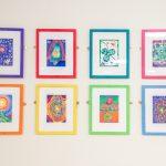 Jamie Reid's work at The Florrie