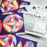Jamie Reid's Casting Seeds flyers at The Florrie