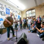 Michael Head and Timo Tierney perform at the Florrie
