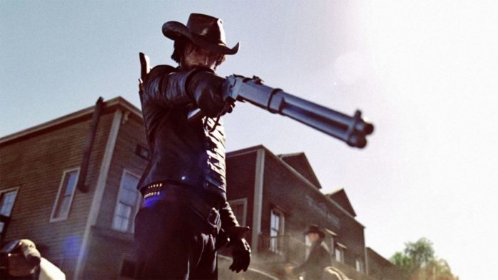 Gun totin' trouble on Westworld