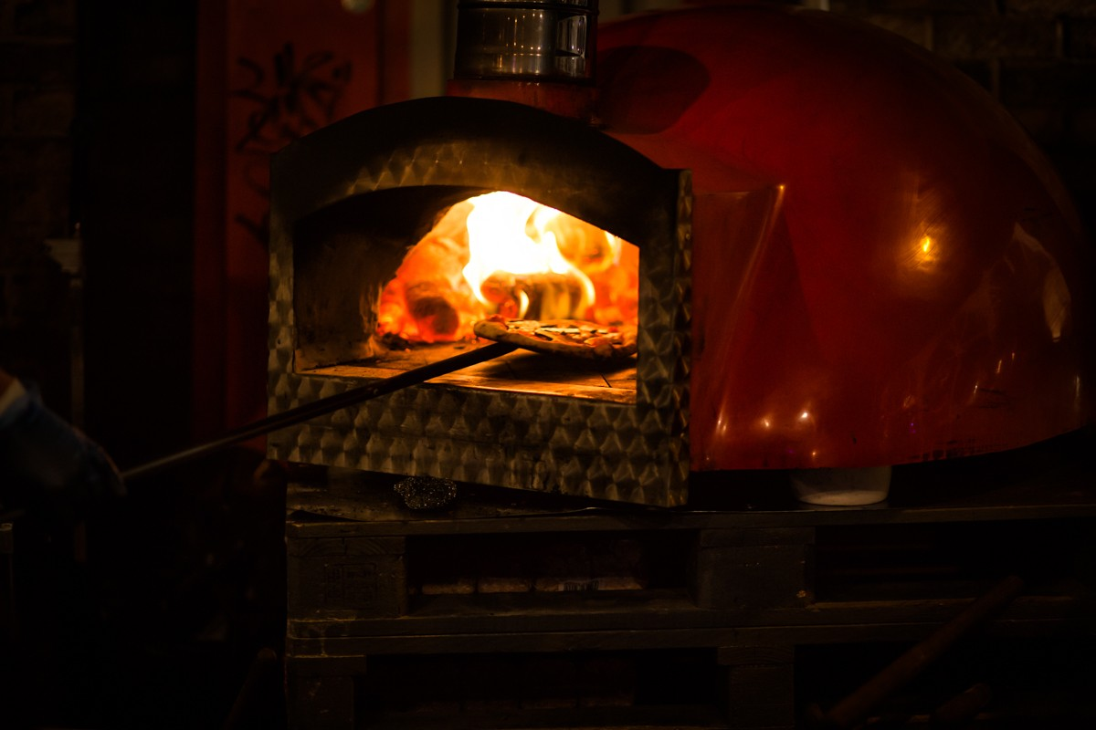 Wood-Fired Pizzas - delicious!