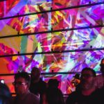 Watching bands in kaleidoscopic technicolour