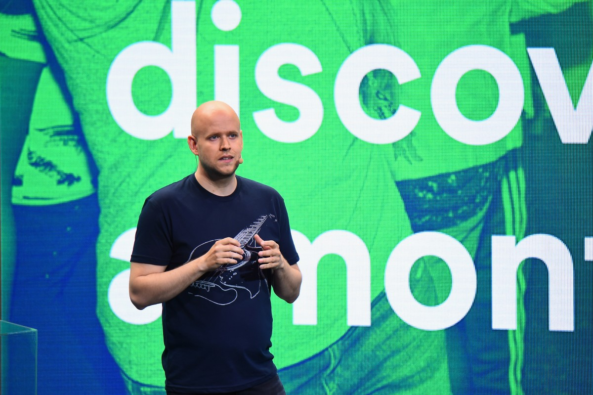 Spotify co-founder and CEO Daniel Ek
