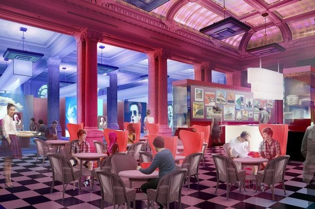 An artist's impression of the British Music Experience in Liverpool