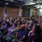 The crowd in Trafalgar Warehouse