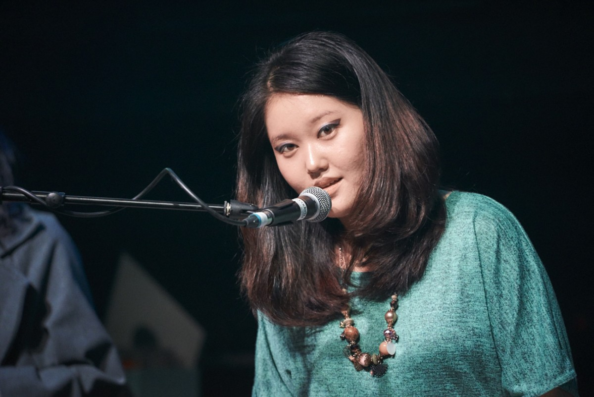 Grace Kim at Liverpool SoulFest 2016 (Image: Simon Lewis)