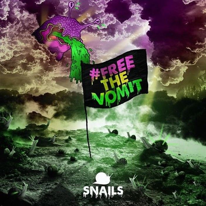 The cover for Snails' #FREETHEVOMIT single