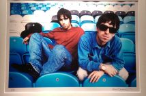 Liam and Noel at the Oasis exhibition