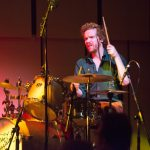 Alex Neilson on drums