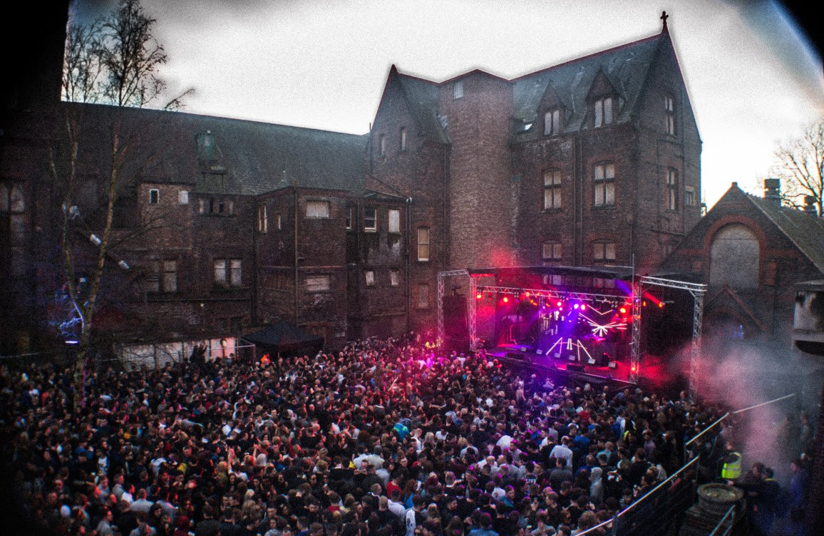 The Asylum at Newsham Park - photo from Skiddle.com