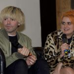 Tim Burgess and Camille Bennett