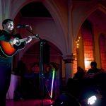 Nick Ellis at the Scandinavian Church