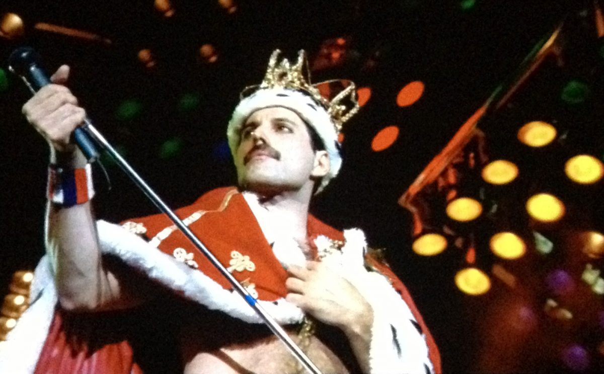 The champion - Freddie Mercury
