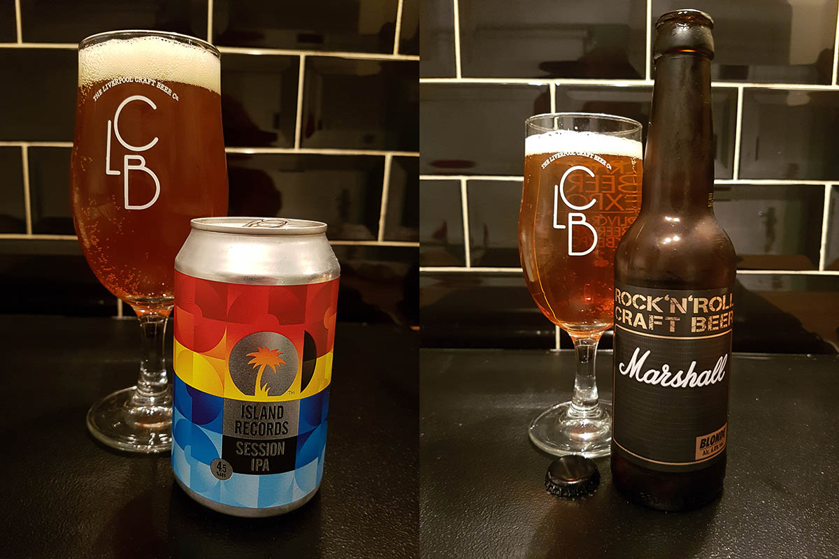 Innovative can from Island records, limp ale from Marshall amps