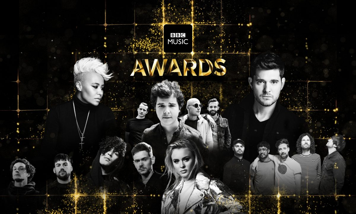 Promotional image for the 2016 BBC Music Awards