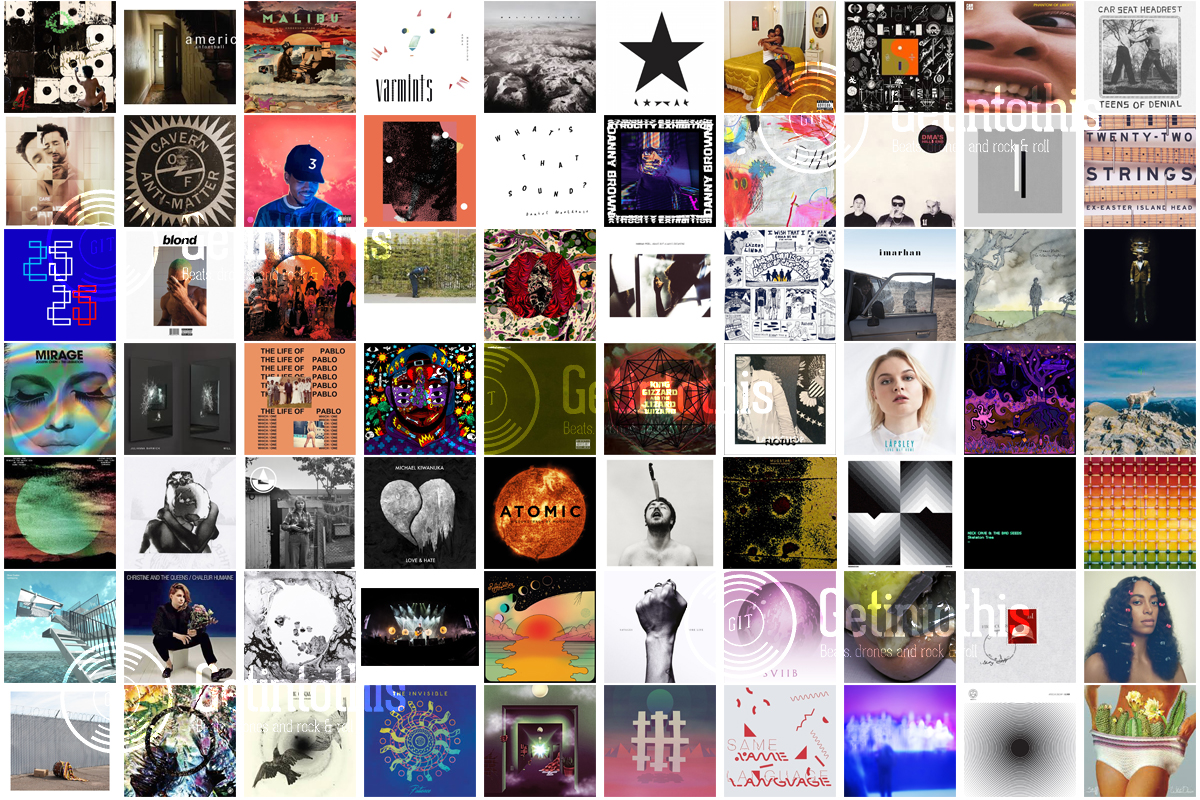 Getintothis' Top 100 Albums of 2016