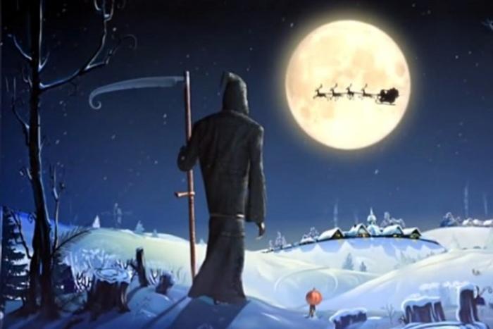 Image from Simpals' short film Santa & Dji