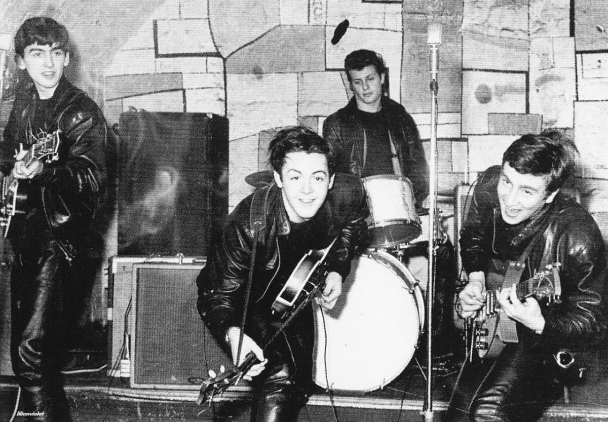 The Beatles larging it in The Cavern