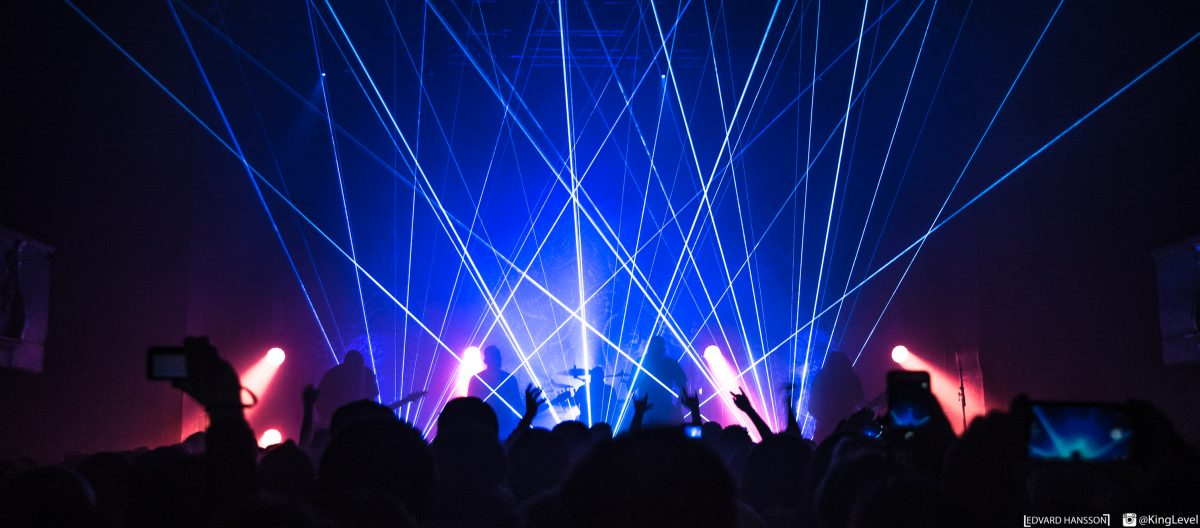 Lasers abound - Photo by Edvard Hannson