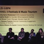 Festivals & Music Tourism Panel