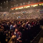 Kings Of Leon fans at the Echo Arena, Liverpool