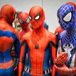 So many Spidermen