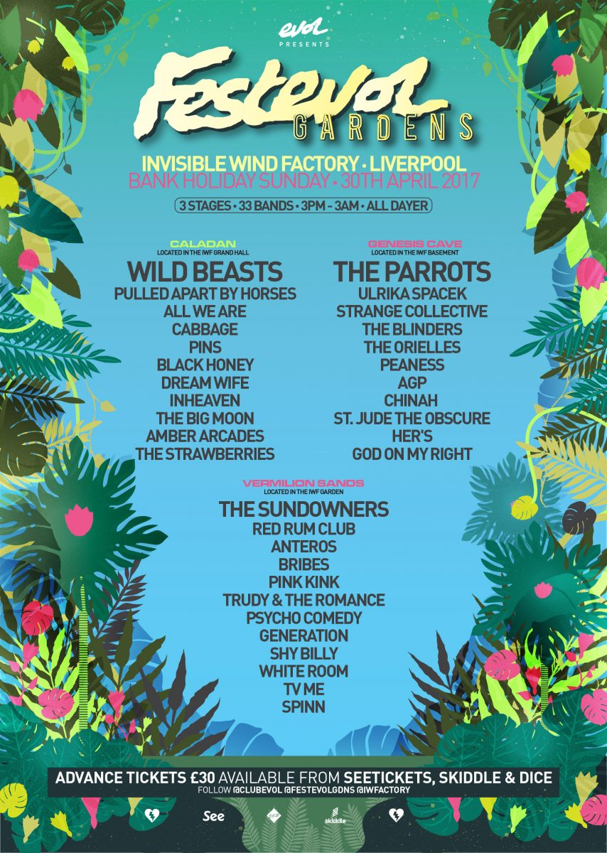 festevol gardens 2017 reveals trudy and the romance and red rum