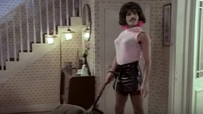 Freddie Mercury loves a spring clean