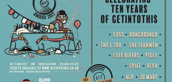 The GIT Award 2017 announces 10 bands for 10 years of Getintothis for Constellations all-day spectacle