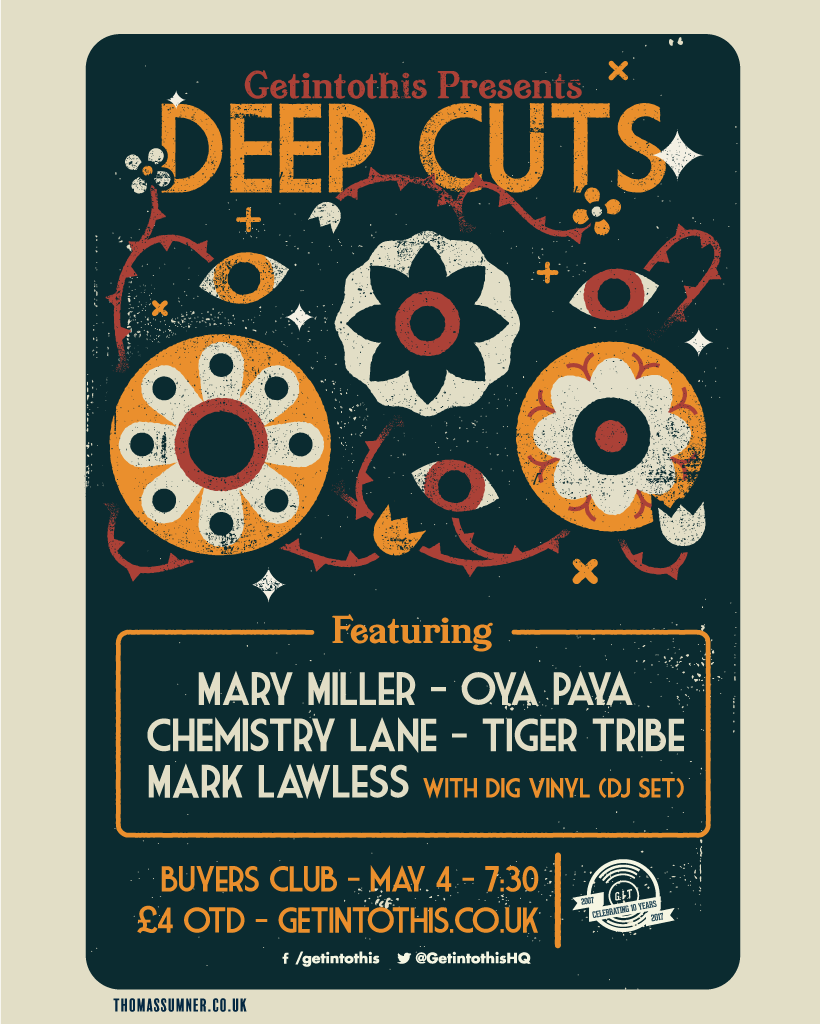 Deep Cuts May lineup