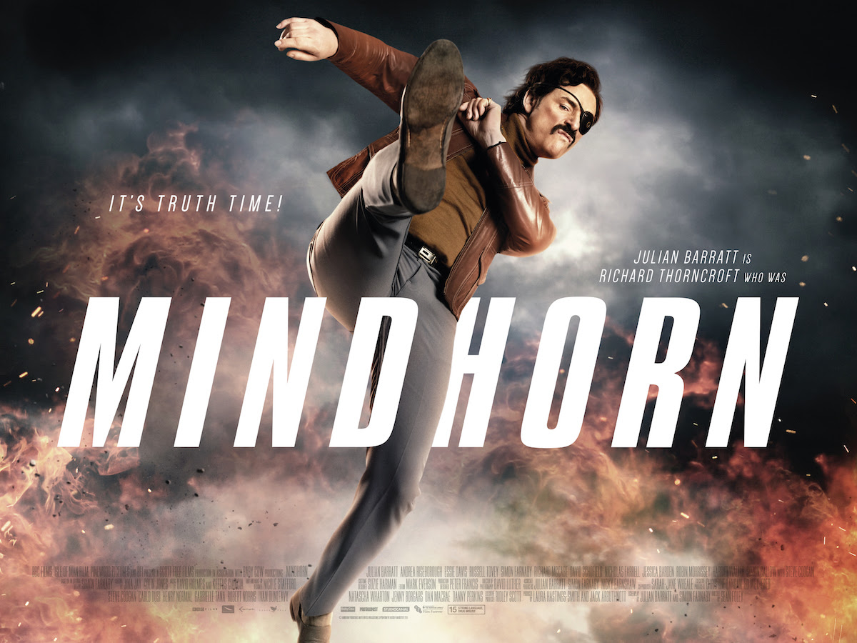 Julian Barratt kicking Ass in Mindhorn