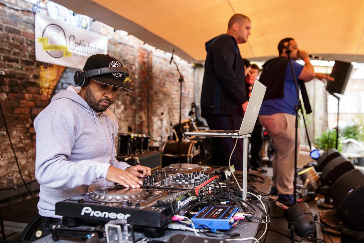 DJ 2Kind at Ten Years of Getintothis