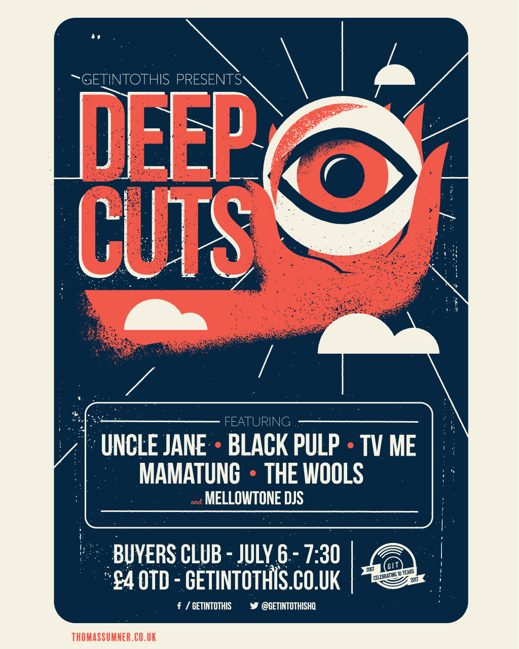 Getintothis presents Deep Cuts live - July 2017