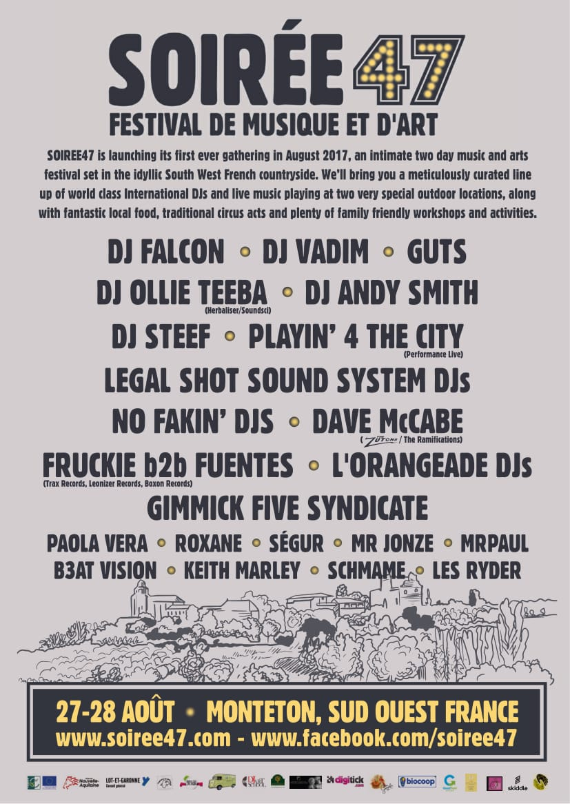 Soiree47 Festival Lineup