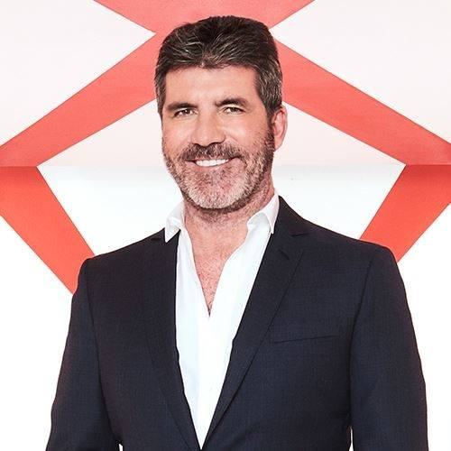 Simon Cowell (from Facebook page)