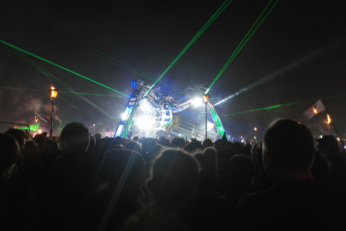 Arcadia Glastonbury 2017