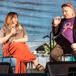 Charlotte Church with Simon Price