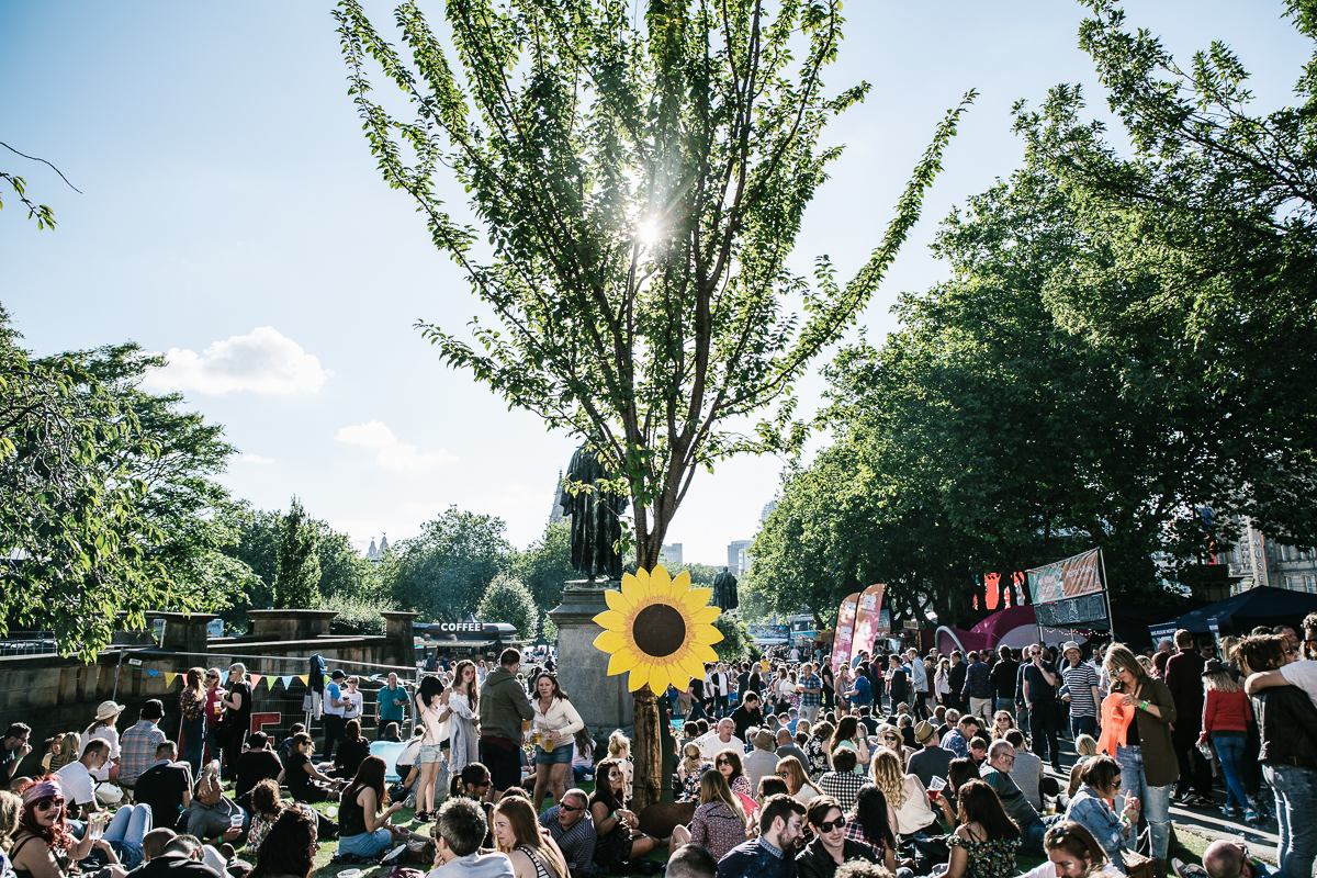 Calm and tranquility before the storm as Getintothis' Michelle Roberts captures the more peaceful side of Hope and Glory Festival before the carnage took over