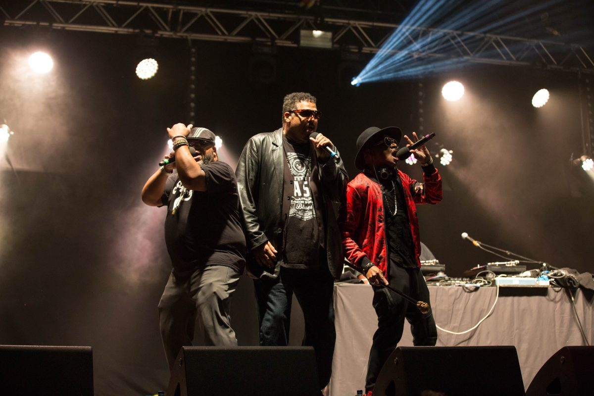 The Sugarhill Gang (credit Carl Gibson)