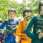 The Beatles procession at Festival No.6