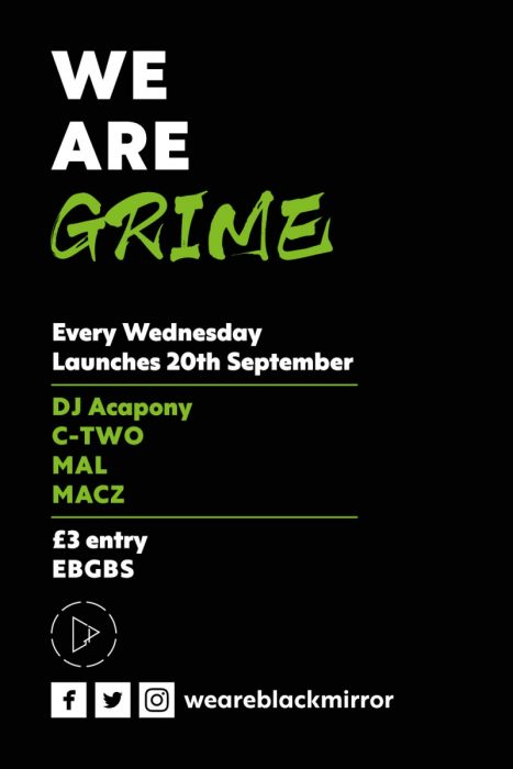 Poster for We Are Grime