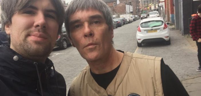 Stone Roses' Ian Brown in Parr Street Studios as new solo album reportedly in the works