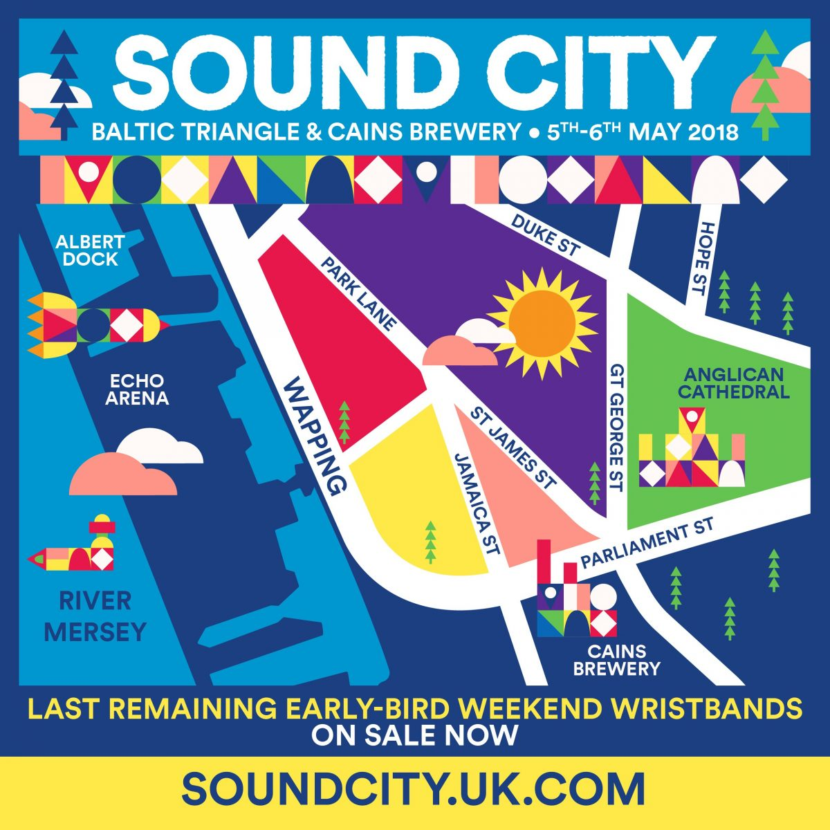 Sound City 2018 map