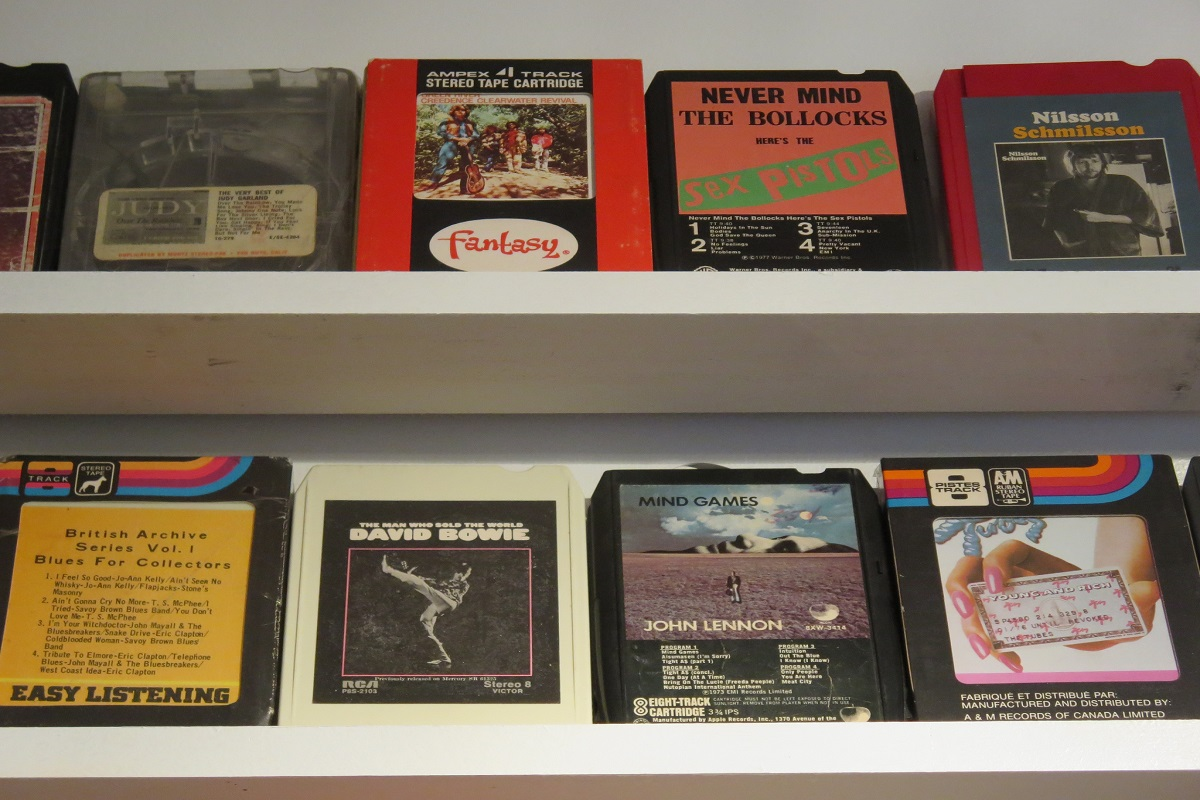 A mere museum exhibit? 8 track tapes