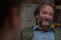 Robin Williams (photo taken from Good Will Hunting Facebook page)